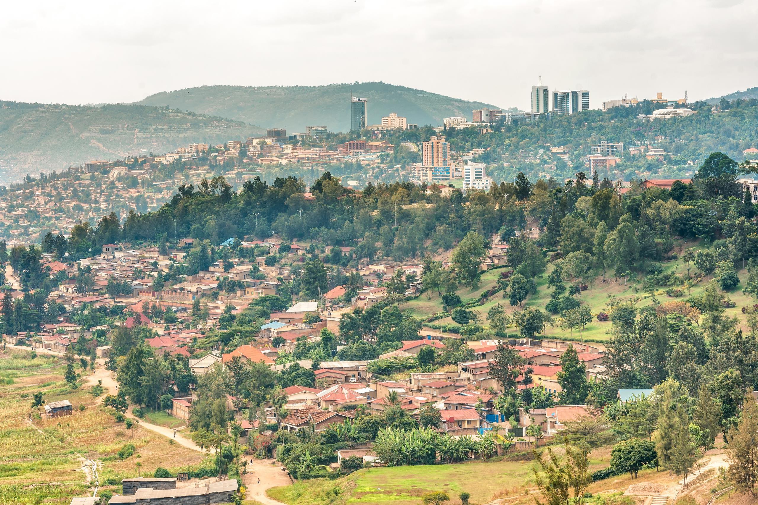 Kigali capitale Rwanda